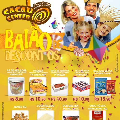 E-mail Marketing Cacau Center