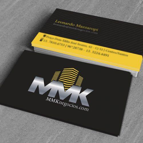 Cartão de Visitas MMK Negócios
