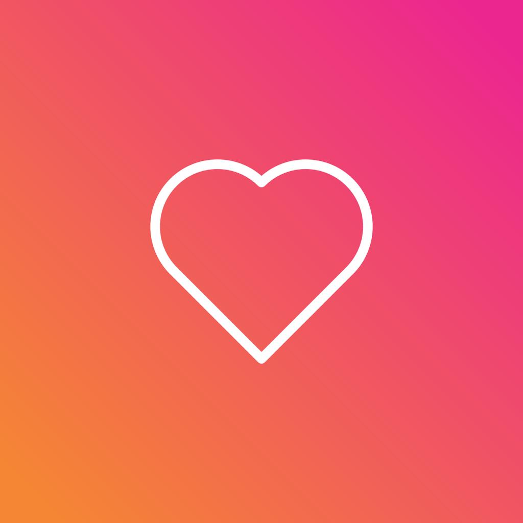 coracao-branco-do-fim-dos-likes-no-fundo-degrade-com-cor-instagram