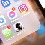 tela do celular mostrando pasta de aplicativos
